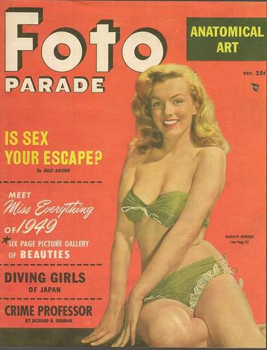 Foto Parade Magazine Marilyn Monroe