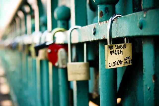 padlock of love