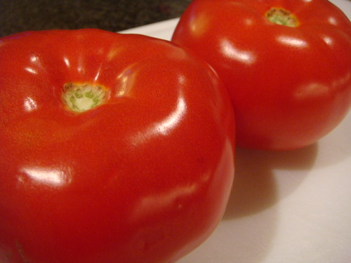 Tomatoes for Thon A La Provencale (swordfish)