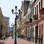 Peru Travel: Colonial streets, Lima