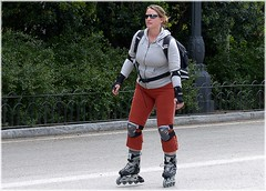 skating, inline skating, footwear, clothing, sports, roller skates, roller skating,