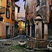 Dawn light, Cannobio, Italy .......... by Bruce Kerridge