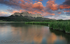 Brooks Lake, Wyoming, at Sunset
