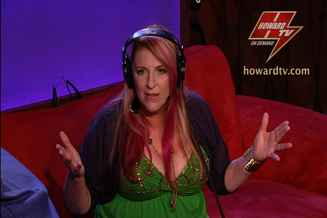 Howard stern lisa lampanelli comedian and frequent guest
