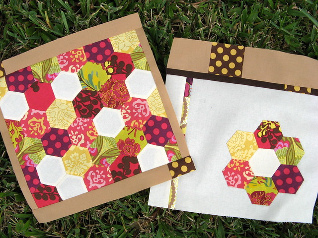 Both blocks for November Bee Modern