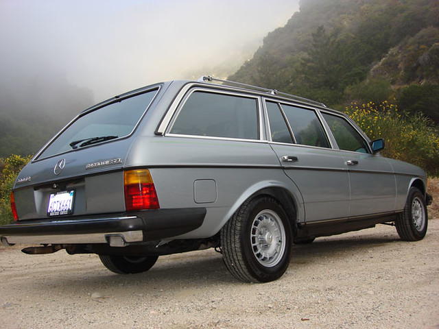 1983 mercedes benz 300td touring diesel turbo a photo on