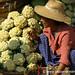 Cauliflowers, Mann Thida Market - Mandalay, Burma