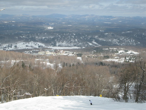 winter skyline vermont skiing horizon skiresort vista stratton