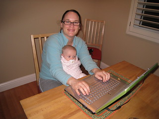 Helping Mom with Facebook