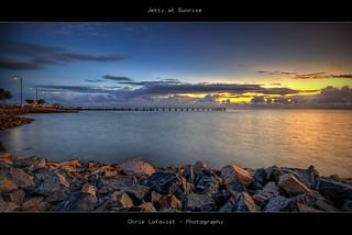 Jetty at Sunrise
