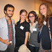 Interns at Dan Graham lecture by Sotheby's Institute