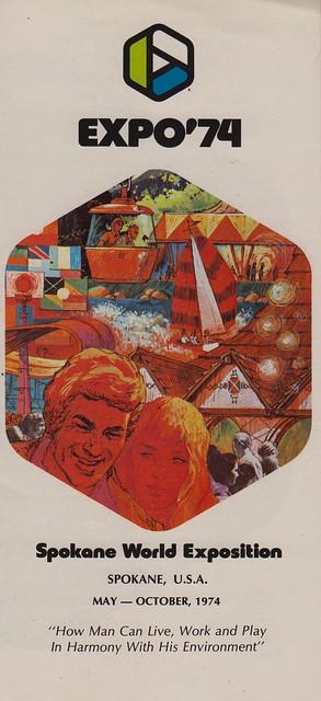 Expo '74 Pamphlet - Spokane, Washington