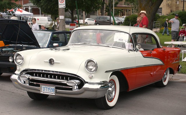 1955 oldsmobile 98 holiday 4 door hardtop flickr photo for 1955 oldsmobile 4 door hardtop