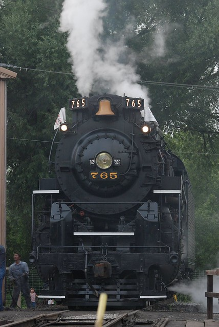Nickel Plate 765 by Chris Gaziano