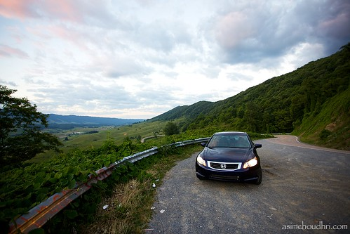sunset car honda accord virginia valley canon1740l canoneos5dmarkii