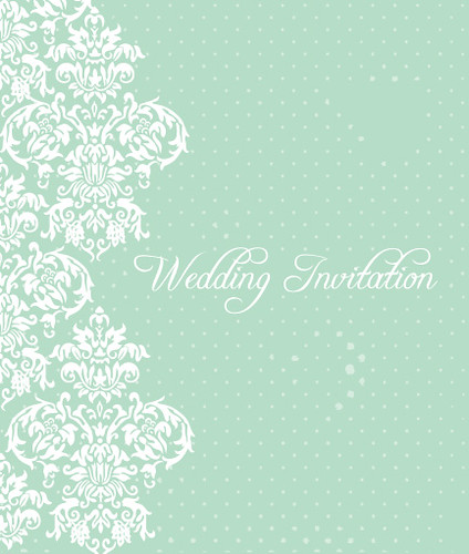 Wedding invitation graphic available for download at