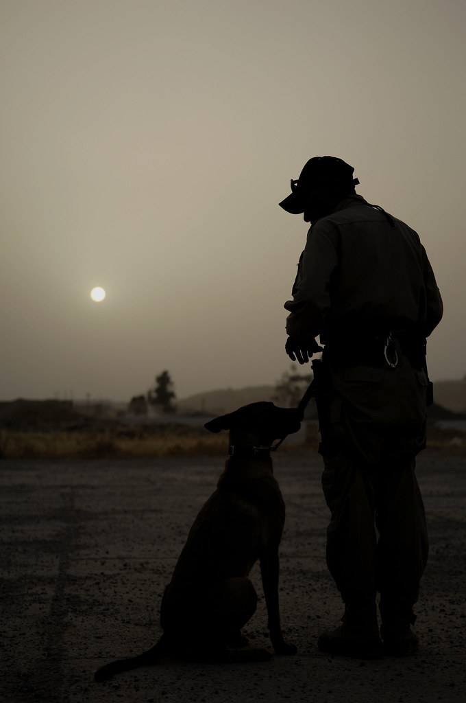 Iraqi Dog Handlers