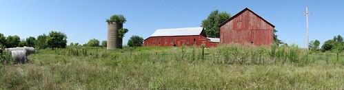 panorama barn rural jeffersoncounty silotree