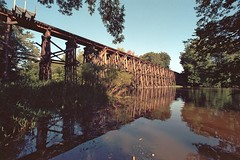 Hamilton trestle wide view