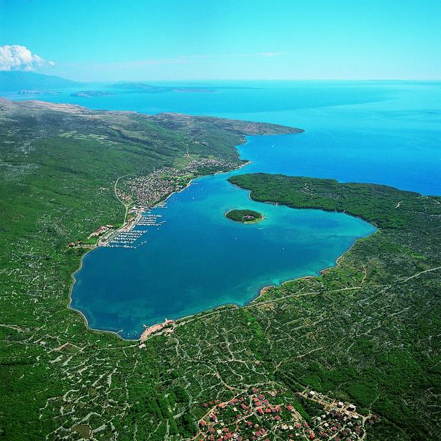 Bay of Punat, Krk Island - Kvarner, Croatia