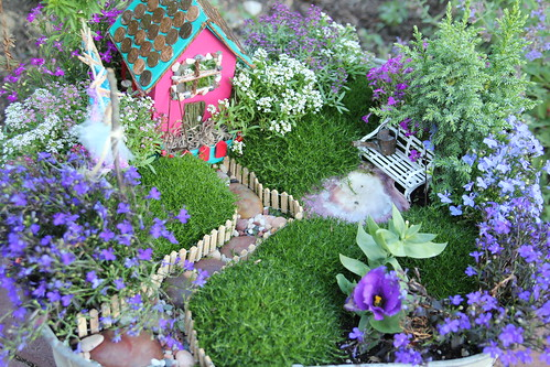 There are fairies living in the garden home burgh baby for Irish fairy garden