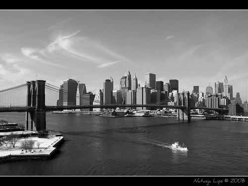 Skyline & Brooklyn Bridge