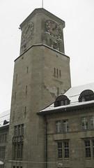 0 007 Turmuhr der Hauptpost St. Gallen