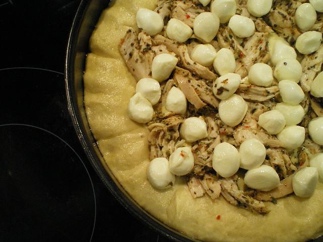 Deep Dish Alfredo Pizza: Mothball Pizza | Flickr - Photo Sharing!