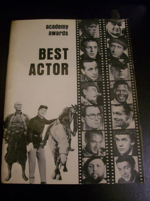 Academy Awards-Best Actor