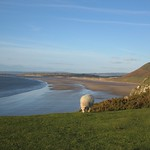 Rhossili Bay, Gower Peninsula, South Wales Coast