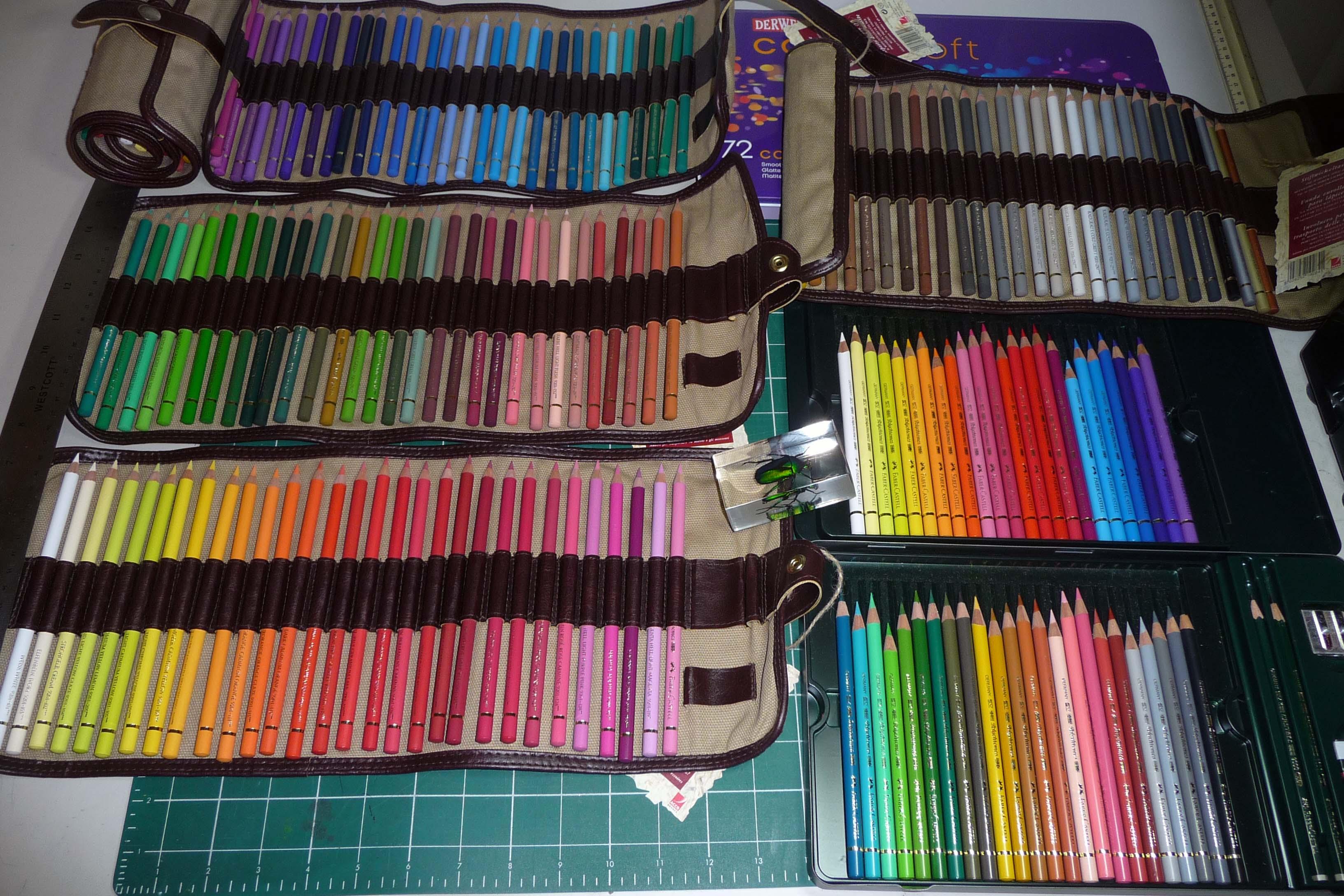faber castell polychromos prismacolor color pencil. Black Bedroom Furniture Sets. Home Design Ideas