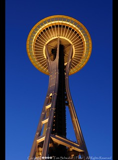 Blue Hour - Space Needle