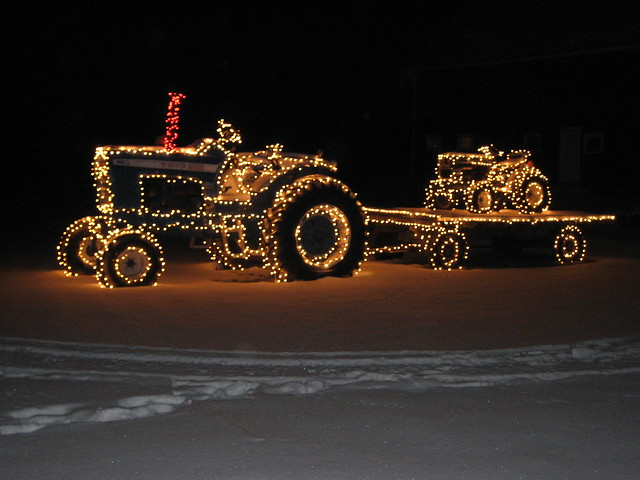 christmas tractors hollis nh.