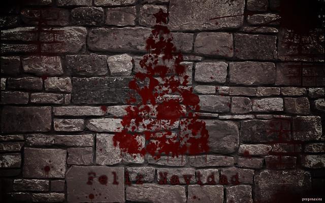 Bloody Christmas Tree.Christmas Tree Bloody Christmas Tree Winner At Contest Ca