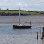County Wexford River Corock Estuary near Wellingtonbridge