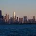 Chicago at sunset by vanYperen.com