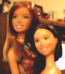 face, brown hair, adult, doll, barbie, toy,