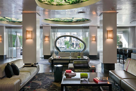W Hotel Atlanta Interior Design By Icrave Color Home