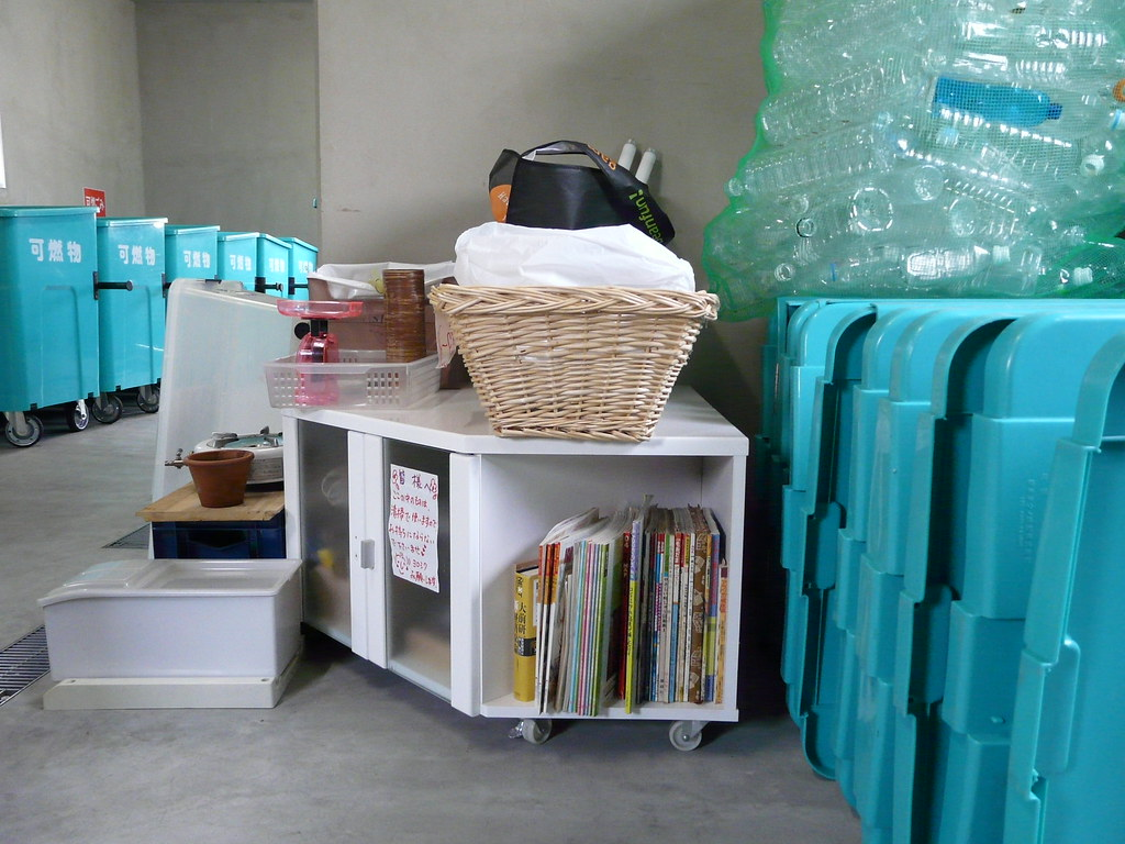 Rubbish Center Library & Storage