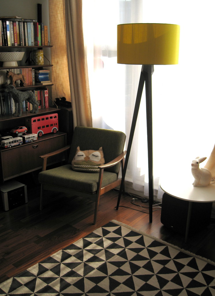 Nice Light, living room corner. | Shot of my new bunny rabbi ...