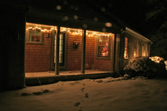 20081220 - December 20, Snowfall - First Good Snow
