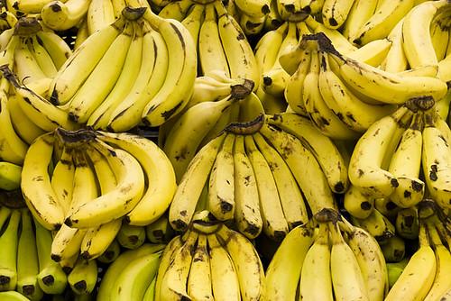 Where do bananas originate?