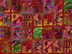 Fire Side Quilt Background ~ Free