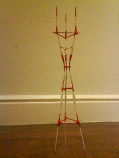 Sutro Tower in toothpicks | by wilsnfu0492