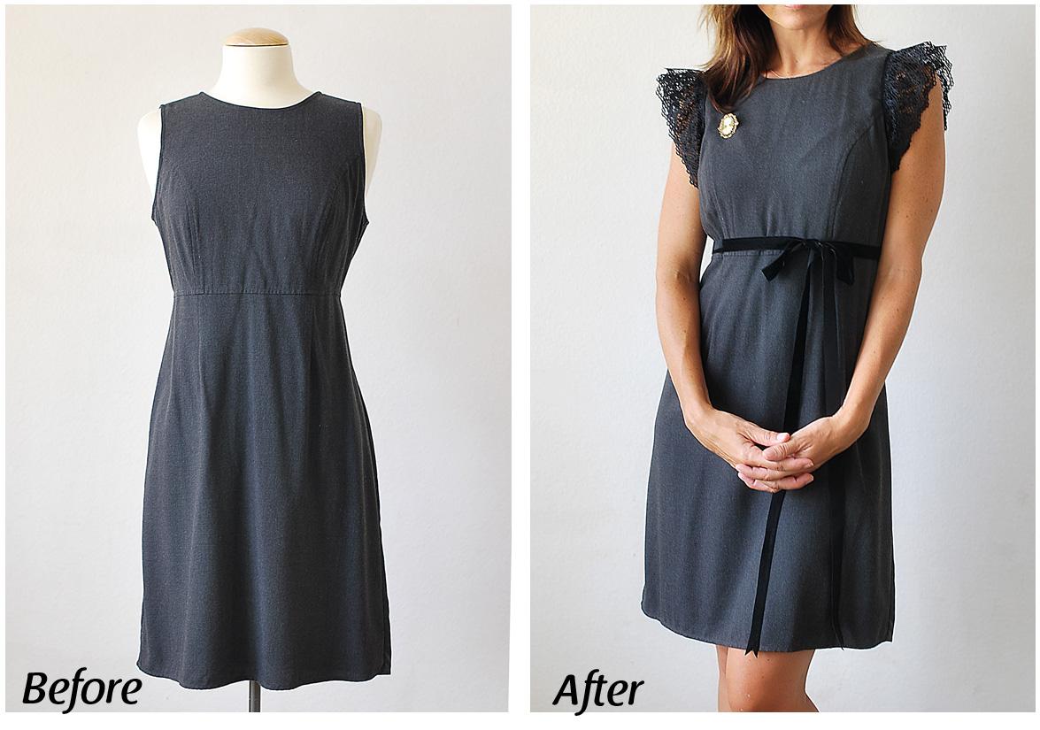 Как переделать платье своими руками фото наличие