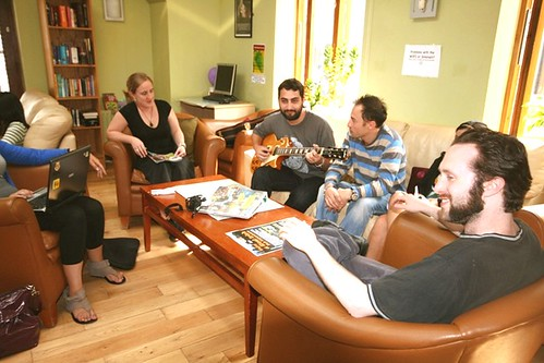 Common Room / Barnacles Hostel / Dublin / Ireland