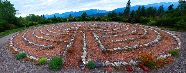 RedSun Labyrinth composite from Flickr via Wylio