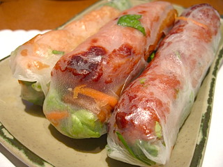 Brodard - Nem nuong cuon and chao tom cuon