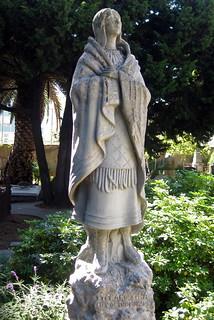 Statue von Kateri Tekawitha in San ...