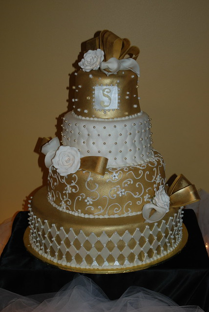 gold and white wedding cake designs totcupcakes s inspiration a gallery on flickr 14743